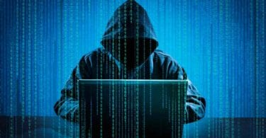 Ethical hacker on blue