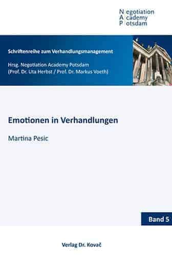Emotionen in Verhandlungen