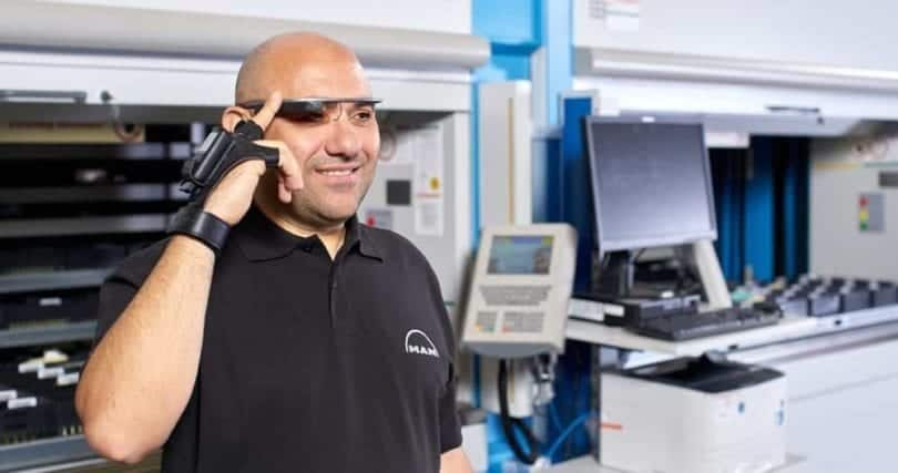 MAN, Datenbrille, Google Glass