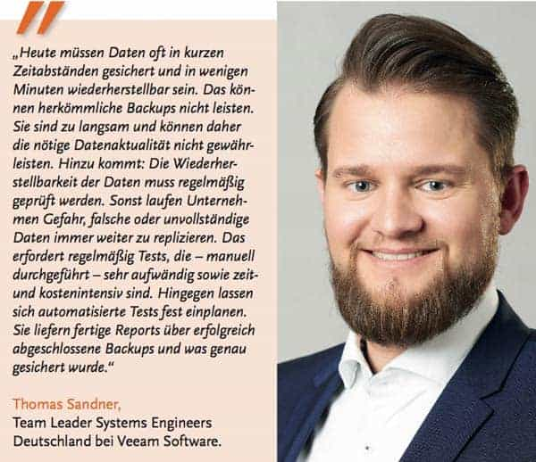 Thomas Sandner Zitat Backup & Recovery
