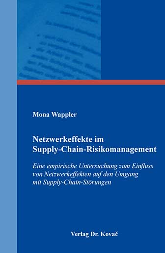 Netzwerkeffekte Im Supply Chain Management